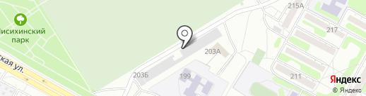 Автогаражный кооператив №228 на карте Иркутска