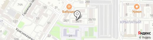 Проклятый цирк на карте Иркутска