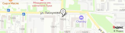 Успех на карте Иркутска