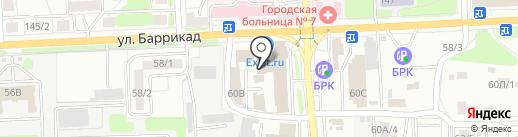 РУДОЛЬФ ДИЗЕЛЬ на карте Иркутска