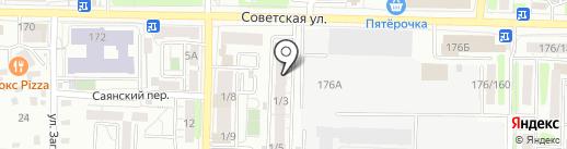 Умная Техника на карте Иркутска