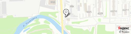 Компания по замене и ремонту автостекол на карте Иркутска