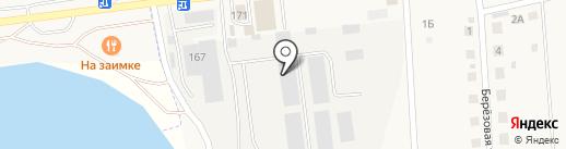 ТехноСтрой на карте Хомутово