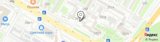Сусло`в на карте Иркутска