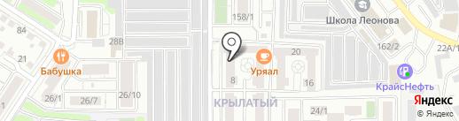 Вершина на карте Иркутска
