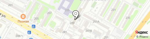 Магнит на карте Иркутска