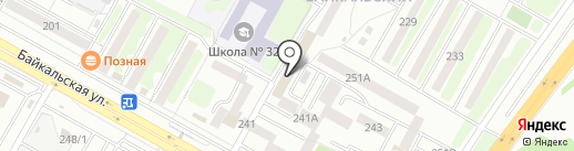 Иркутская Торговая газета на карте Иркутска