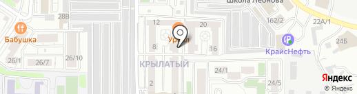 ИНСТРОЙ на карте Иркутска