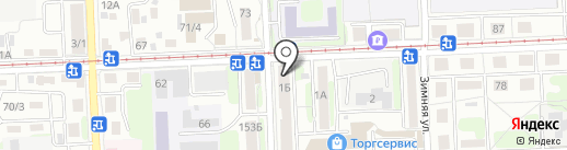 Connect+ на карте Иркутска