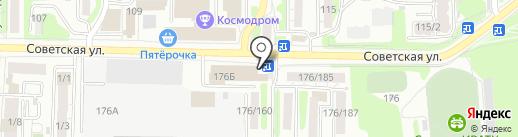 Терем Сибири на карте Иркутска