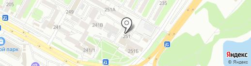 Анет на карте Иркутска