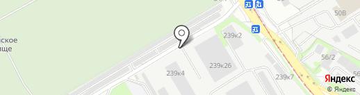 Магазин автоэмалей на карте Иркутска