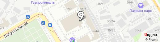Иркут на карте Иркутска