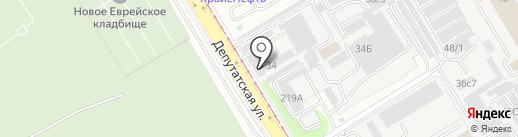 Левша на карте Иркутска