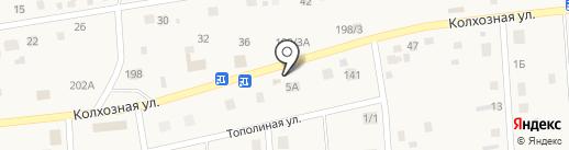 Магазин разливных напитков на карте Хомутово