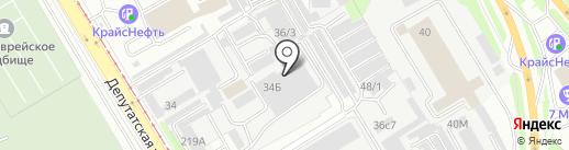 Сибкаменьсервис на карте Иркутска