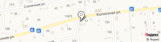 Магазин автозапчастей на карте Хомутово