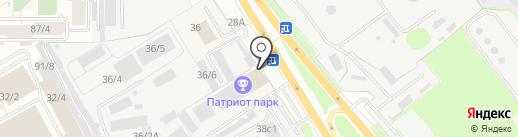 АРТ Торг на карте Иркутска