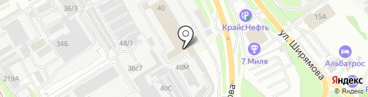 Технотест на карте Иркутска
