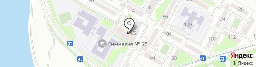 Шторм на карте Иркутска