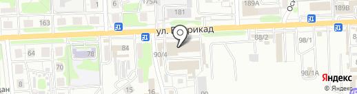 Первый автомобильный на карте Иркутска