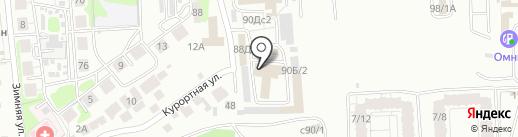 У Матоса на карте Иркутска