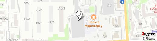 Аквадрайв на карте Иркутска
