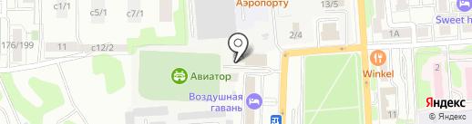 Лидер на карте Иркутска