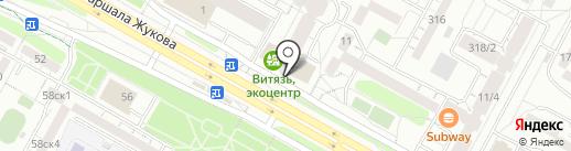 АнгарскСтрой на карте Иркутска
