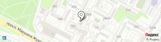 Магазин женской одежды из Белоруссии на карте Иркутска