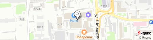 Сибтеплосервис на карте Иркутска