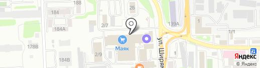 Терра Транс на карте Иркутска