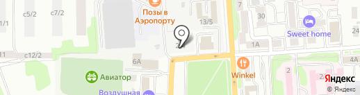 U-mobil на карте Иркутска