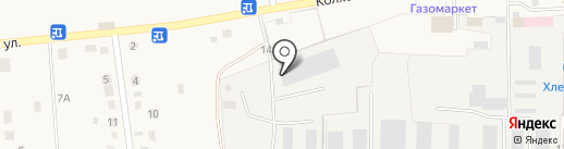Берегиня на карте Хомутово