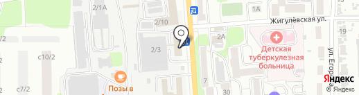 ДСТС на карте Иркутска
