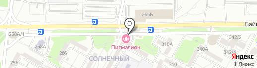 Салон оптики на карте Иркутска