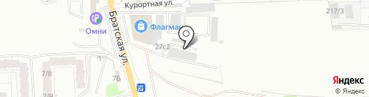 ПланетАКПП на карте Иркутска