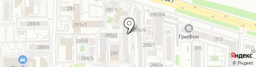 Автореал на карте Иркутска