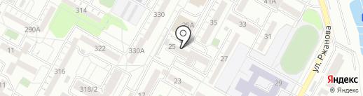 АТЦ ВЭМ на карте Иркутска