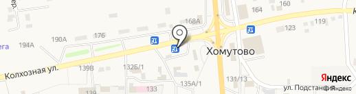 Агропромэнерго на карте Хомутово