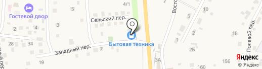 Мягкий на карте Хомутово