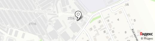 ЛЕГАТ на карте Иркутска