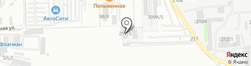 Автомаркет на карте Иркутска