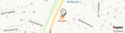 Разливной на карте Хомутово