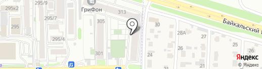 Aqua Club Kids на карте Иркутска