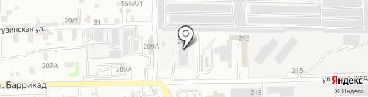 РТМ Трансформатор на карте Иркутска