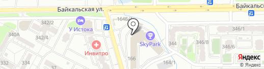 СтройДомИнтерьер на карте Иркутска