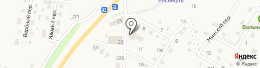 Алик на карте Хомутово