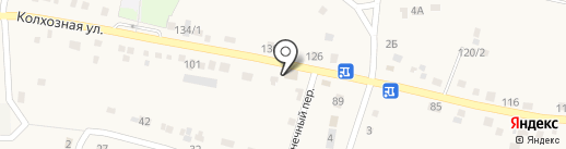 Виктория на карте Хомутово