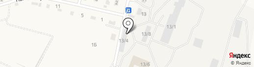 Гараж на карте Хомутово
